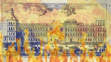 Photo of El incendio que destruyó el Alcázar de Madrid en la noche de Navidad