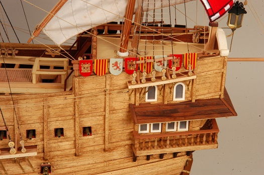 maqueta barco museo naval