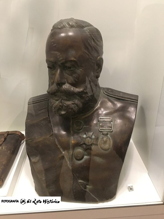 General Marina melilla busto retrato
