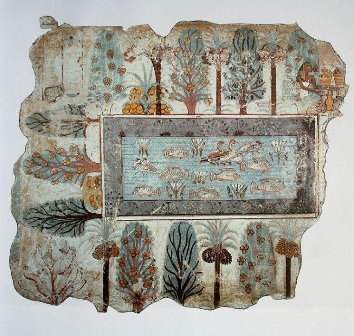 jardin antiguo egipto viajar visado