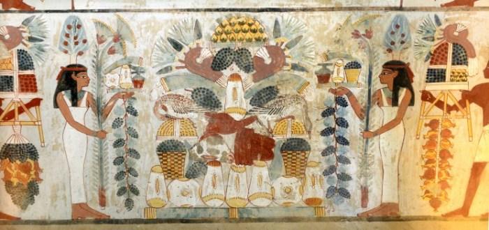 jardines egipto pinturas viajes