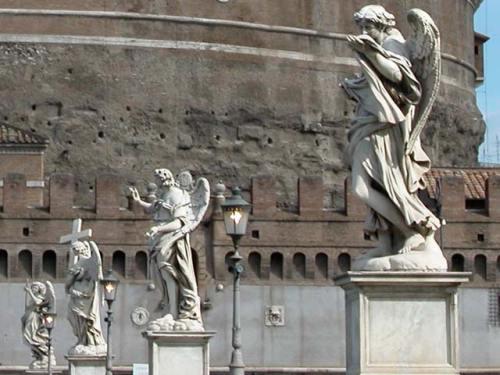 ángeles de bernini