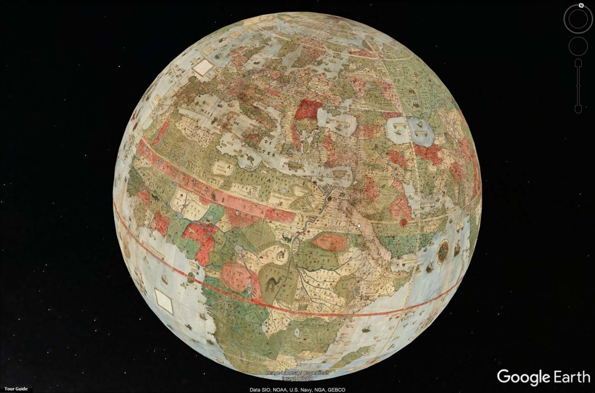 El Mapamundi más grande del siglo XVI