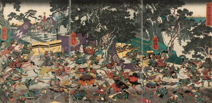 daimyo japon guerra