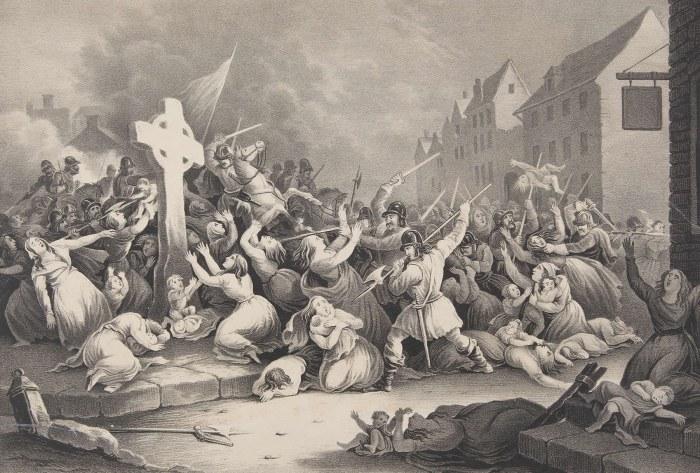 irlanda cromwell masacres