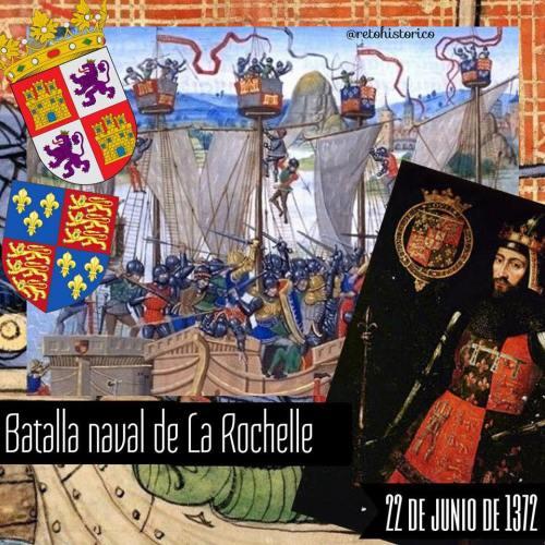 batalla La Rochelle inglaterra castilla