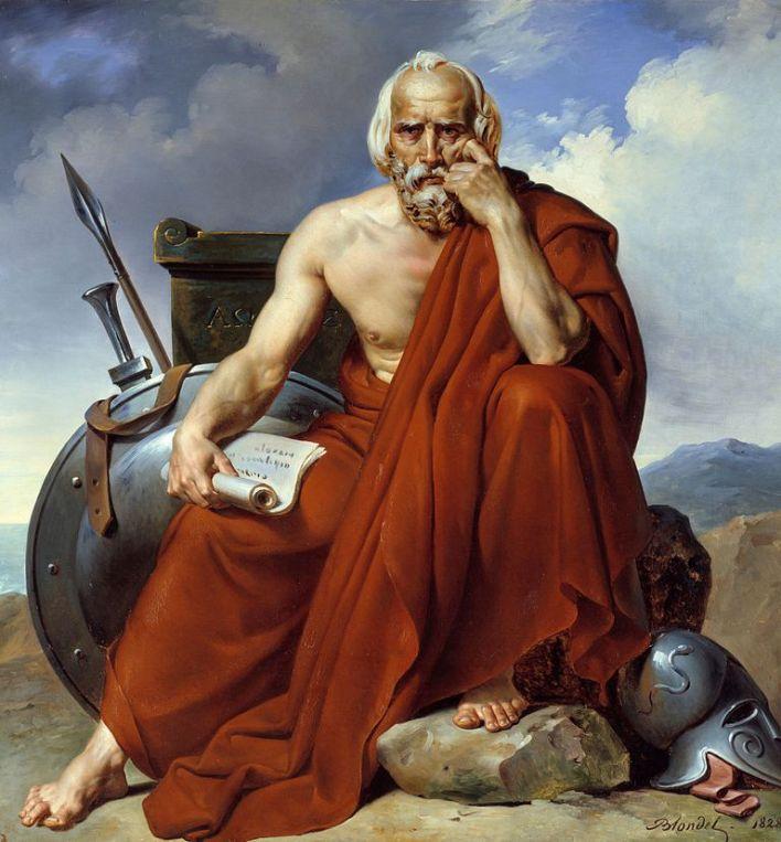 Licurgo. Merry-Joseph Blondel (1828).
