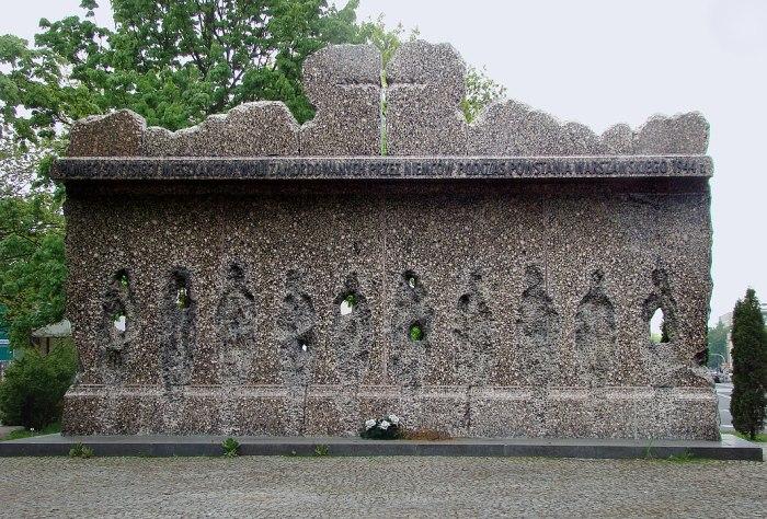 Wola massacre victims memorial