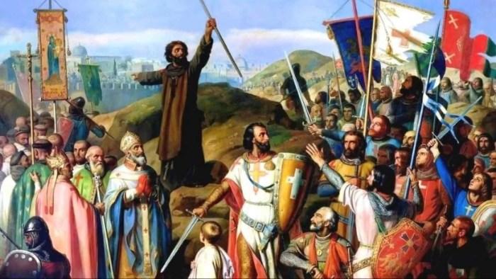"""La """"Lanza de Longino"""" que combatió en la Primera Cruzada"""