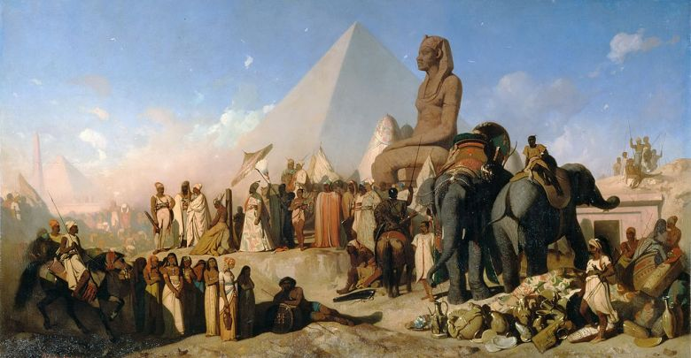 pelusium persas egipcios gatos guerra cambises