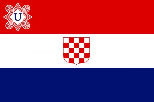 bandera ustacha croacia nazis