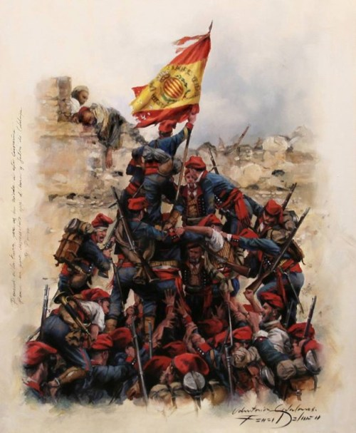 catalanes voluntarios Prim Africa