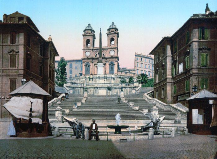 Santa Trinita dei Monti + Piazza di Spagna