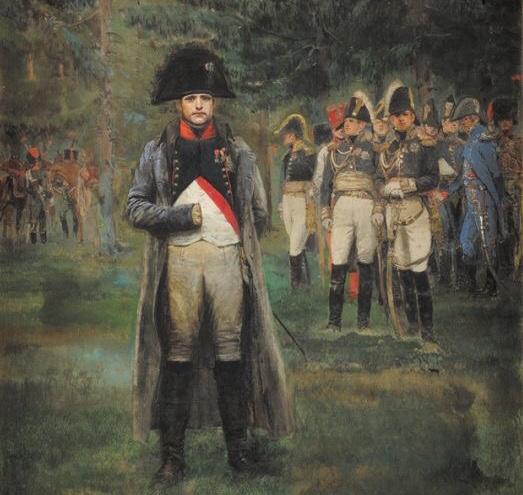 napoleon mano oculta chaqueta