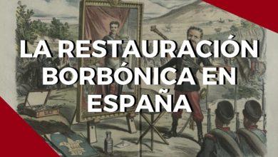 Photo of La Restauración borbónica en España