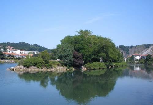 Isla de los Faisanes, Francia, Bidasoa, condominio