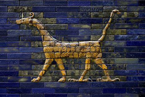 Mushussu dragon Babilonia ishtar mesopotamia