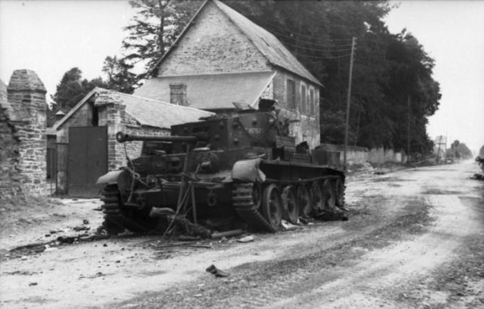 villers bocage 1944 wittmann Normandía tiger