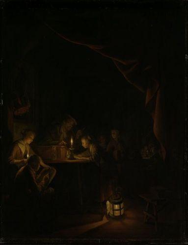 oscuridad sombras barroco claroscuro