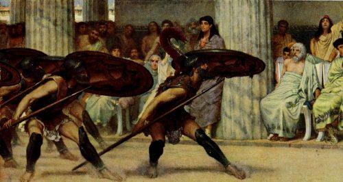 alma-tadema moisés londres victoriana XIX XX antigüedad