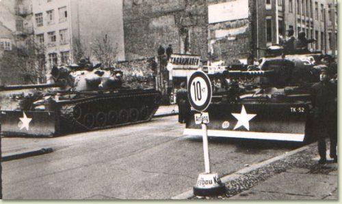 Checkpoint charlie tercera guerra mundial