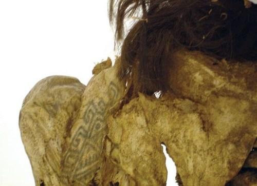 cultura maya, tatuaje, cuerpo