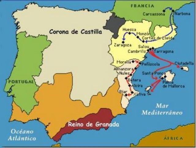 jaime conquistador mallorca valencia