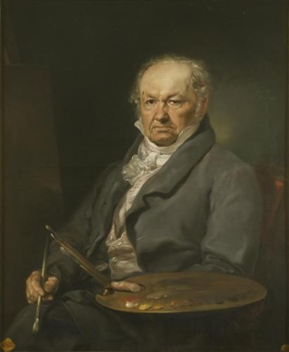 Rosario Weiss Goya copia retrato Gooya