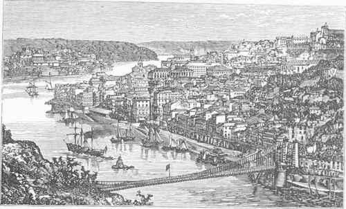 Portugal Oporto 1847