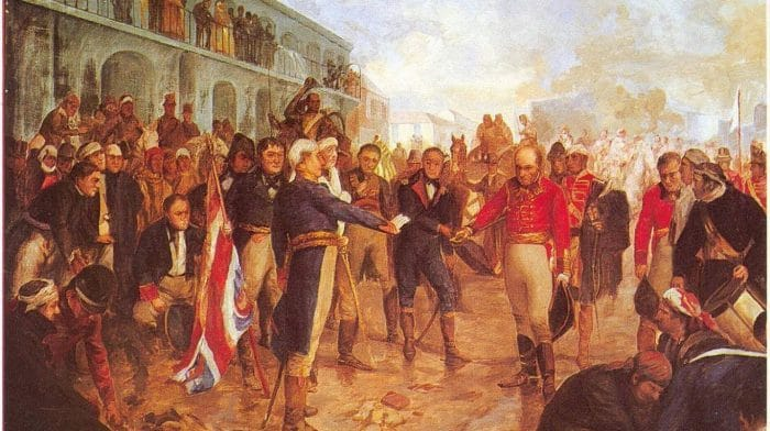 La reconquista de Buenos Aires. 1806.
