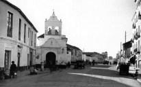 Iglesia de Zamarrilla en los años 50