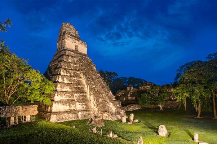 guatemala mayas centroamerica tikal