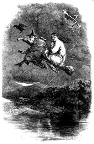 bruja escoba hondarribia
