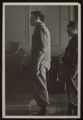 Fotografía del juicio por Baldomero (BNE)
