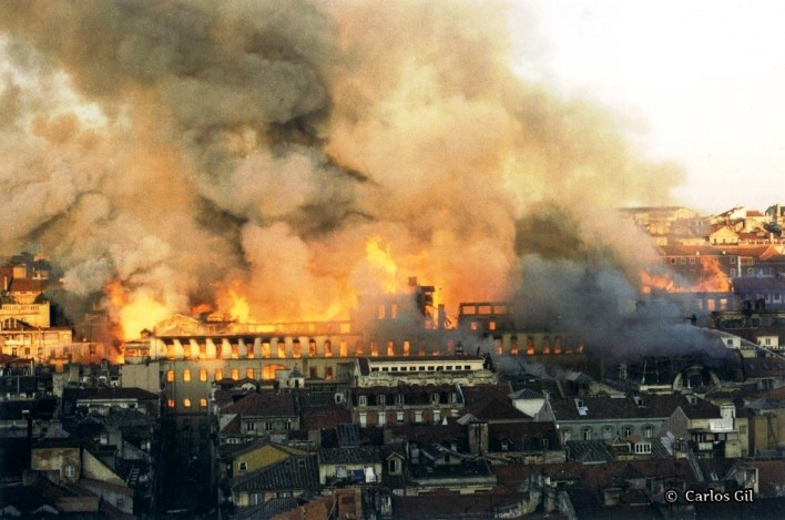 incendio lisboa 1988