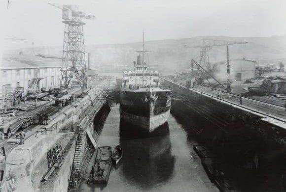 Castillo Peñafiel buque capturado sovietico