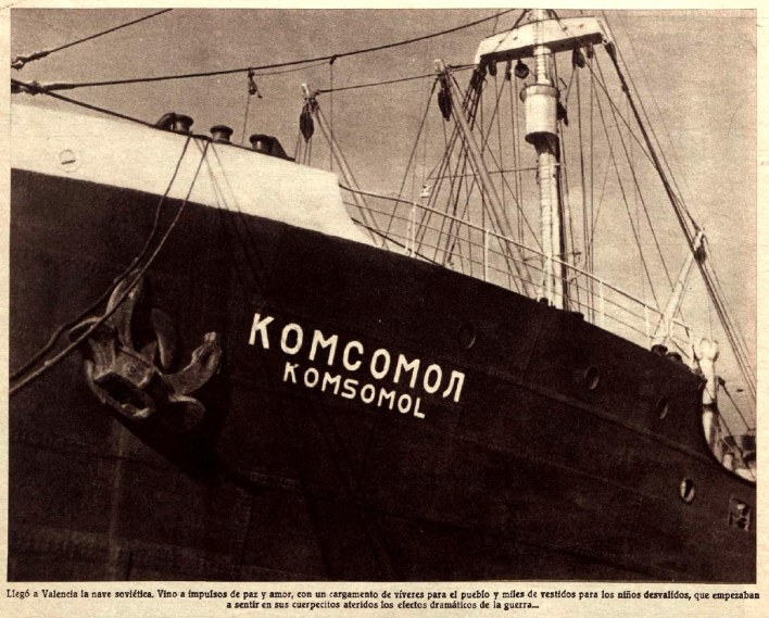 ayuda sovietica rusa guerra