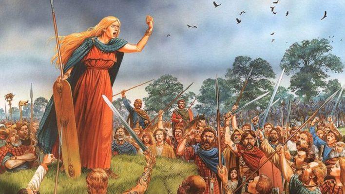 Boudica (ilustración actual)