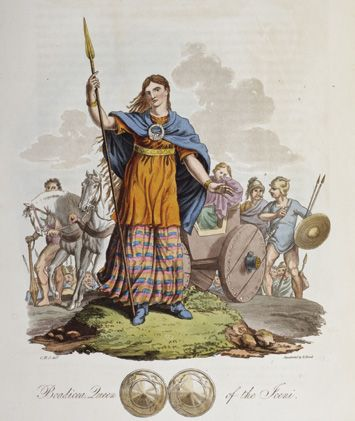Boudica Roma lanza