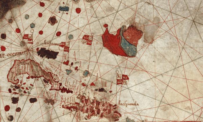 mapa juan de la cosa colon
