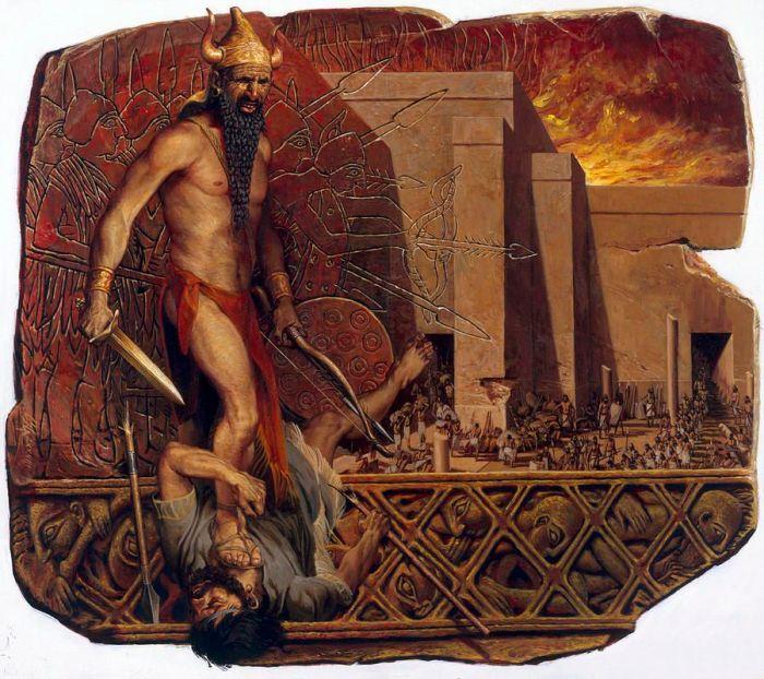 El rey acadio Narum-Sin