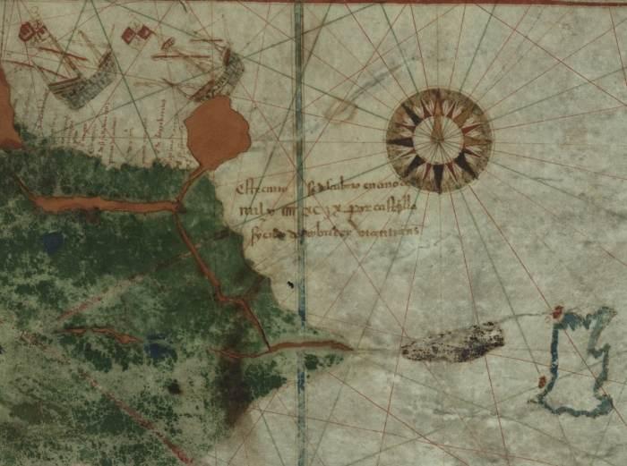 mapa juan de la cosa brasil