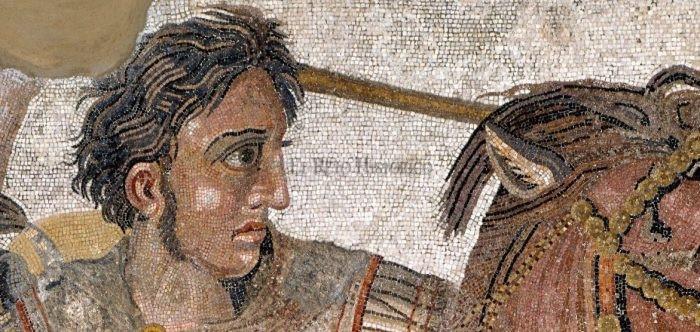 alejandro magno mosaico