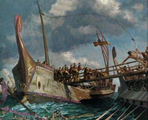 guerra punica naval