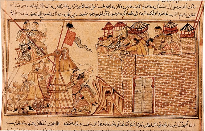mongoles batalla mamelucos