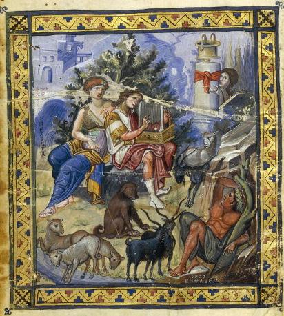 El icono Psalterio París.