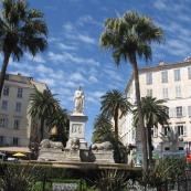 Estatua de Napoleón, Ajaccio,