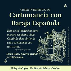 Curso Intermedio de Cartomancia</br>con Baraja Española</br>(Sala Grupal)