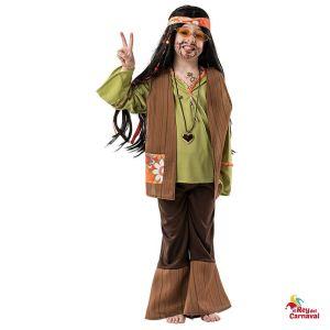 disfraz niño hippi