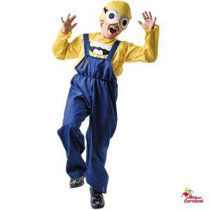 disfraz infantil minion